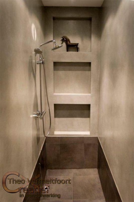Badkamer plafond badkamer behandelen : Badlamer Betonlook in opdr van Wendy Schoenaker2010 maart 11